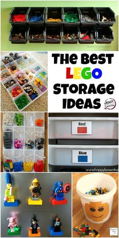 Best LEGO Storage Ideas