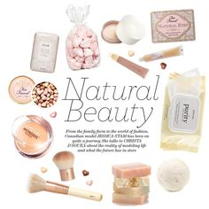 Natural Beauty by malussieversii on Polyvore featuring polyvore beauty Too Faced Cosmetics Maybelline Paul & Joe H&M Forever 21 philosophy Fresh Davines