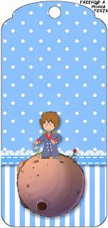 Pequeno Príncipe Moreno - Kit Completo com molduras para convites, rótulos para guloseimas, lembrancinhas e imagens!