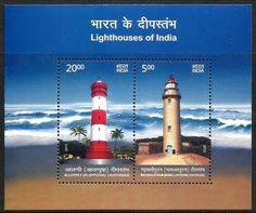 Emisión 23.12.2012 Motivo Faros de Alleppey y Mahabalipuram