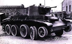10TP - Polish prototype of fast tank, based on Christie's chassis. Never left the prototype status.
