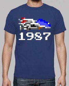 Prezzi e Sconti: #1987 galaxy (uomo)  ad Euro 21.95 in #Tostadora #T shirt uomo