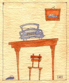 auto 10: ufficio . 2004