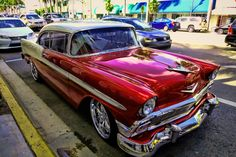 Chevrolet Veleart 1957 in South Beach by Andres Glez on 500px