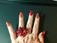Mes ongles pour Noël 2017