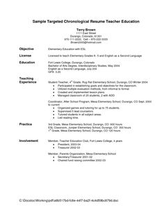 Resume Objectives For Teachers When It's Ok To Use A Resume Objective Statement  Pinterest .