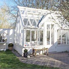 ♕ such a pretty greenhouse