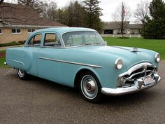 1952 Packard 200  Maintenance/restoration of old/vintage vehicles: the material for new cogs/casters/gears/pads could be cast polyamide which I (Cast polyamide) can produce. My contact: tatjana.alic@windowslive.com