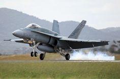 McDonnell Douglas F/A-18A Hornet.