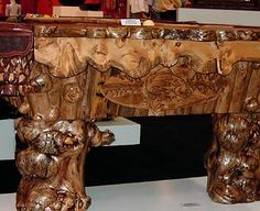 YELLOWSTONE COLLECTION - BURL COLLECTION - Pool Table