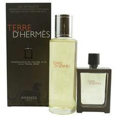 TERRE D'HERMES by Hermes - EDT SPRAY REFILLABLE 1 OZ & EDT REFILL 4.2 OZ
