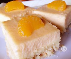 If you're looking for a great dessert to feed a large crowd, these creamy, tropical cheesecake bars are it! Perfect for Mother's Day, baby or bridal showers, and graduation parties.