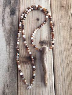 Deer Antler Necklace Real Antler Necklace Antler Tip Necklace Antler Jewelry Tine Designs by Mindi