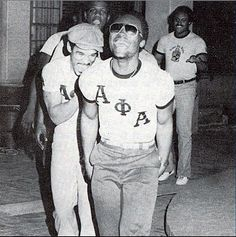 Vintage Alpha Alpha Phi Alpha, Alpha Male, Greek Brothers, Theta Tau, Black Fraternities, Frat Parties, Black History Facts, Sorority And Fraternity, My Black Is Beautiful