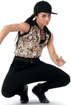 Niu00f1os trajes de danza jazz 3 colores A 087 plumas lentejuelas hip hop trajes de baile para niu00f1os ...