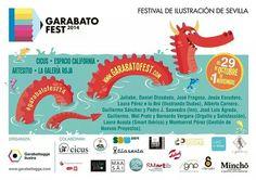 Cartel del Festival Garabato Fest 2014. Www.garabatofest.com #garabatofest14
