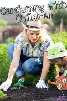 Gardening with child