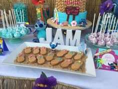 Lilo and Stitch Inspired Hawaiian Luau | CatchMyParty.com