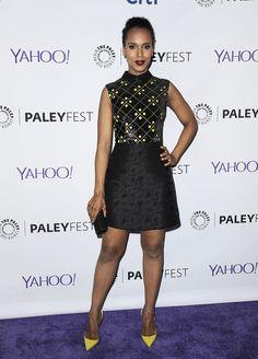 Kerry Washington  With a mini-dress   - MarieClaire.com