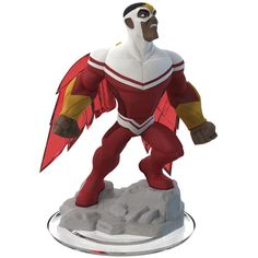 Join the battle with the The Avengers and a host of other Marvel Super Heroes in Disney Infinity: Marvel Super Heroes (2.0 Edition) (not included) with this Falcon figure Swoop down on your foes as Fa