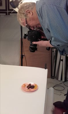 #Shooting #photo pour la #recette à paraître dans le #magazine Les P'tites Filles à la vanille