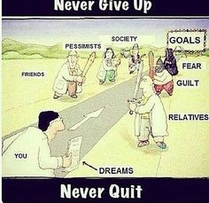 Never give up on ur dreams, u havw to tak e it. Life Quotes Pictures, Real Life Quotes, Reality Quotes, True Quotes, Picture Quotes, Funny Quotes, Bff Quotes, Funny Memes, Meaningful Pictures