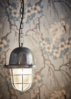 Our Bulkhead Pendant featured in Caffe Nero and photographed by Andy Haslam Industrial Lighting, Industrial Style, Pendant Lighting, Cascade Lights, Wall Lights, Ceiling Lights, Wall Mounted Light, Patina Finish, Ceiling Rose