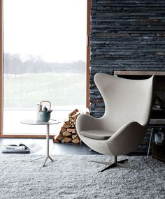 das ei / egg chair sessel fritz hansen - quick ship | decoration, Hause deko