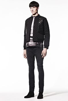 Christopher Kane Fall/Winter 2013 collection features beautiful furry jaguar-prints, and  the faces of Frankenstein, Count Dracula, and the Creature from the Black Lagoon onto T-shirts, sweatshirts and knitwear.