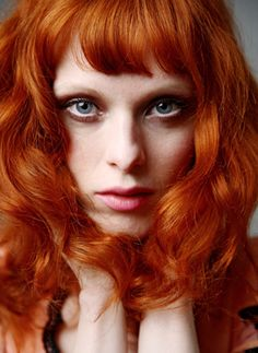 2. Karen Elson would be my second. I think she has a look which is so unique and unordinary. The colour of hair is beautiful contrasting with her flawless pale skin and piercing blue eyes.