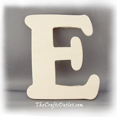 "4"" Letter ""E"" Plywood unfinished wood home Decor ($14 for 10)"