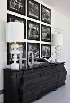 Like the pictures above dresser in lieu of a mirror