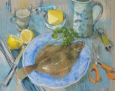 Browse the Felicity House Still Life gallery. Felicity House is an award winning Dorset-based artist, working primarily in Pastels. House Painting, Painting & Drawing, Painter Artist, Plate Art, Still Life Art, Fish Art, Colorful Flowers, Art Tutorials, Illustration Art