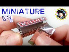 미니어쳐 호일 만들기(톡!톡! 뜯어써요) Miniature - Foil / 미미네 미니어쳐 - YouTube