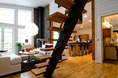 Awesome staircase.
