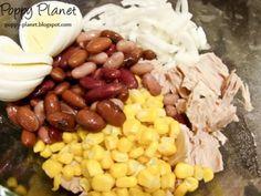 Beans, Vegetables, Food, Salads, Essen, Vegetable Recipes, Meals, Yemek, Beans Recipes