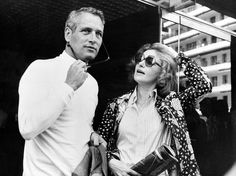 pictures of paul newman n joanne woodward | Joanne Woodward and Paul Newman, Cannes, 1973