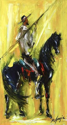 """Don Quijote"" by DeGrazia Gallery in the Sun, via Flickr"