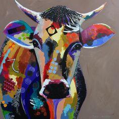 'Cow', acrylic on Canvas, 120x120
