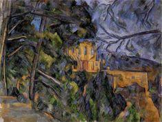 Paul Cézanne (1839-1906)  Château Noir  c. 1904  National Gallery, DC