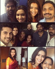 """heavenlyblisss: """"Thank you Bala sir my director Sunil sir my DOP and each and every person on ad film shoot for a wonderful time #RamrajCotton #Chennai #B24Creatives"""""""