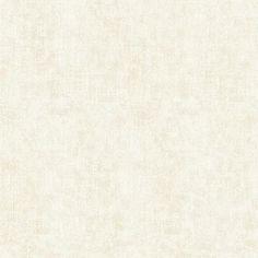 Sultan Cream Fabric Texture Wallpaper