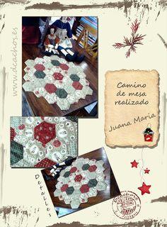 students work www.dcachos.es / trabajos de nuestras alumnas  #bag #patchwork #patch #sewing # creative #quilting #handmade