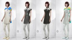 Detroit become human Housekeeper Female Android concept art