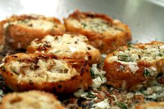 asiago & herb savory french toast...interesting take on cheese toast, one of my favorites