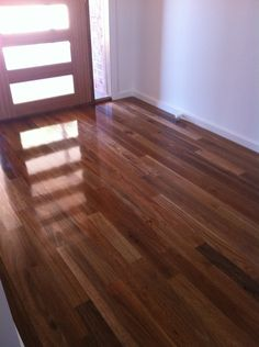 A friend of mine is looking at putting spotted gum floorboards in their house, but hasn't seen many pictures of them installed in real houses, can.