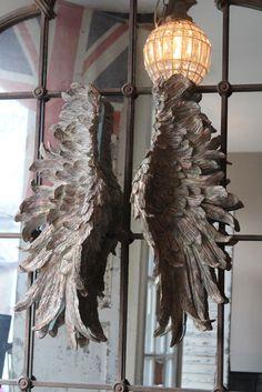 Lg Decorative Angel Wings | discoverattic