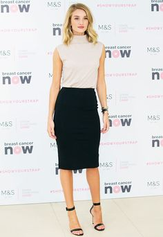 ROSIE HUNTINGTON WHITELEY The Shoe Style That Goes With Every Single Outfit via @WhoWhatWear