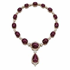 RUBY AND DIAMOND NECKLACE | Lot | Sotheby's