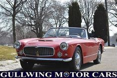 1960 Maserati #maseraticlassiccars #maserativintagecars